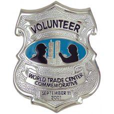 9-11 Commemorative Volunteer Badge