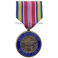 WWII 50th Anniversary Commemorative Medal