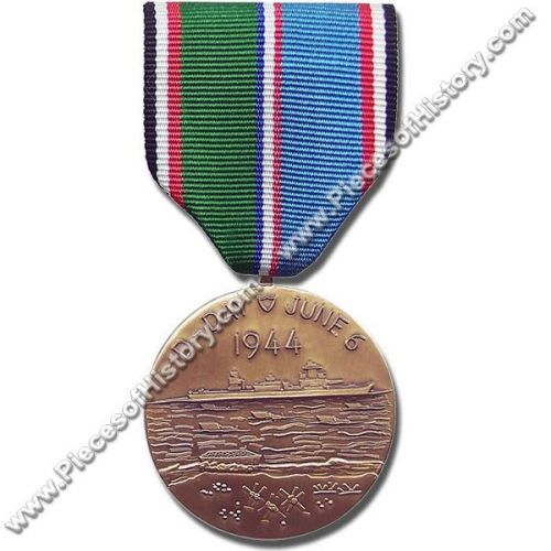 WWII D-Day Commemorative Medal -  - COM-007