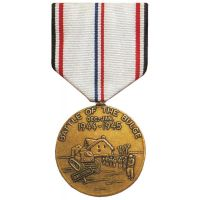 WWII Battle of the Bulge Commemorative Display Medal
