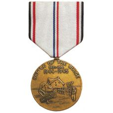 WWII Battle of the Bulge Commemorative Medal