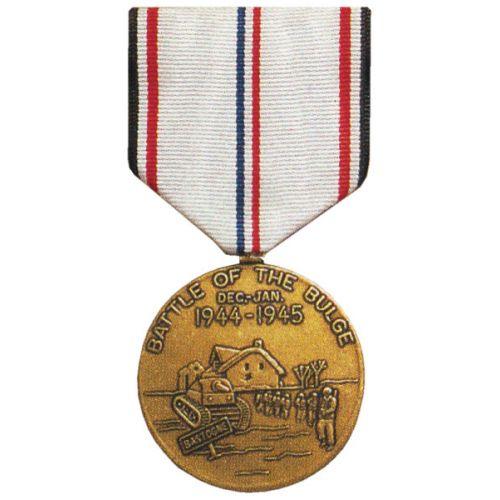 WWII Battle of the Bulge Commemorative Medal -  - COM-010