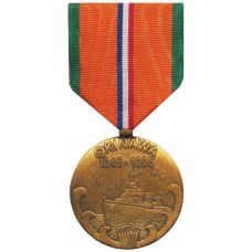 WWII 50th Anniversary of Okinawa Commemorative Medal