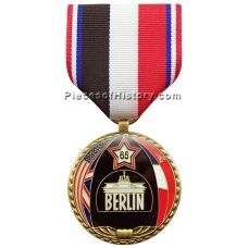WWII 65th Anniversary of Victory in Europe Commemorative Medal