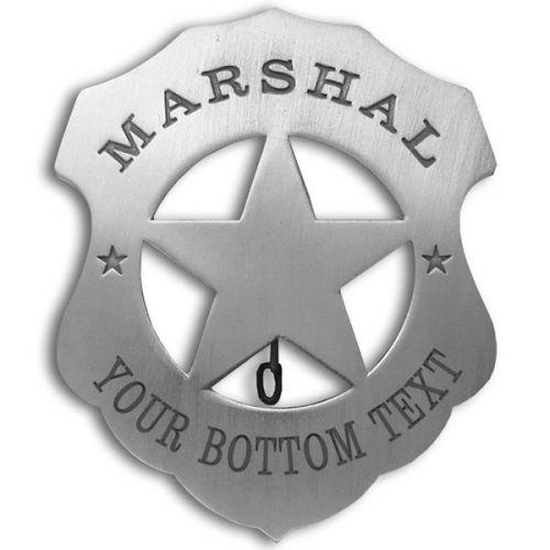 Custom Marshal Badge -  - PH301