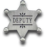 Deputy Star Pin