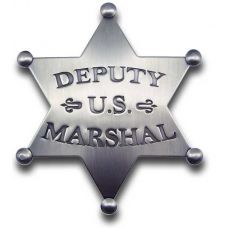 Deputy US Marshal Star Badge