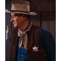 John Wayne in Rio Bravo- Sheriff Presidio County, TX Badge