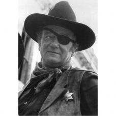 John Wayne in True Grit - Deputy US Marshal Badge