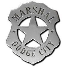 Marshal Dodge City Badge