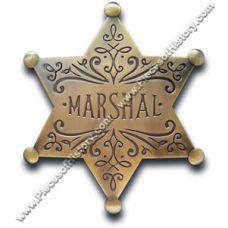 Marshal Star Brass Badge