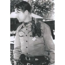 Roy Rogers in Sons of the Pioneers - Sheriff Sheriff Badge