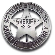 Sheriff Tombstone A.T. Round