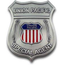 Special Agent Union Pacific Railroad Badge
