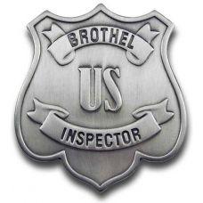 US Brothel Inspector Badge