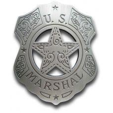 US Marshal Filigree Shield Badge