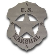 US Marshal Mini Badge