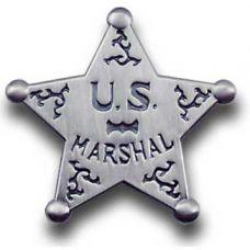 US Marshal Star Badge Pin