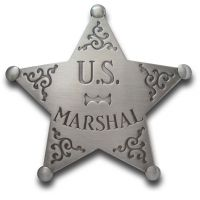 US Marshal Star Badge