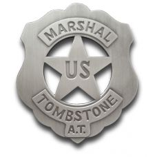 US Marshal Tombstone Badge