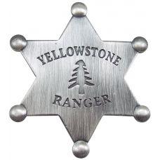 Yellowstone Ranger Mini Badge